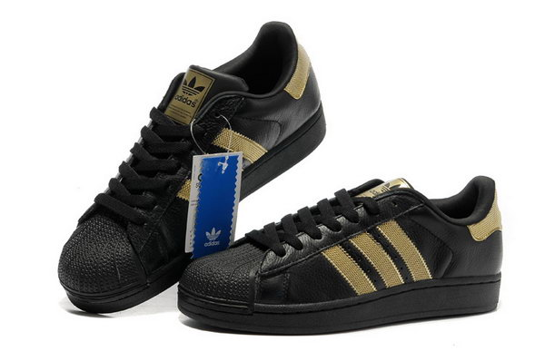 Adidas Superstar Mens & Womens (unisex) Black Gold Greece